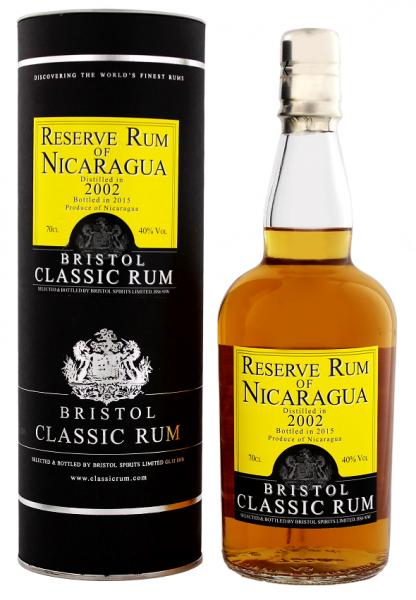 Bristol Reserve Rum of Nicaragua 2002 0,7