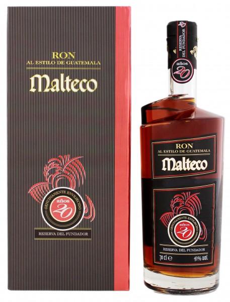 Malteco 20YO Rum 0,7 Liter 41%