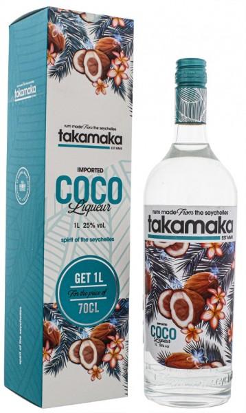 Takamaka Bay Coco Likör 1 Liter 25%