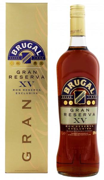 Brugal Gran Reserva XV Exclusiva Rum 1 Liter 38%