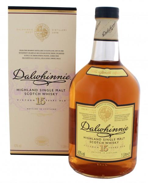Dalwhinnie 15YO Single Malt Whisky 1 Liter 43%