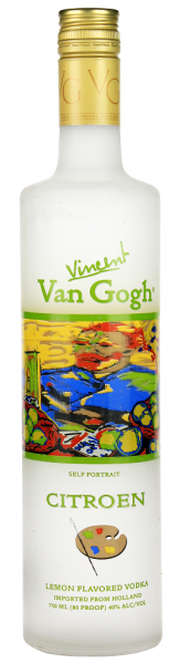 Van Gogh Vodka Self Portrait Citroen 0,75 Liter