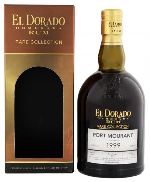 El Dorado Demerara Port Mourant 1999/2015 Rum Rare 0,7 Liter 61,4%
