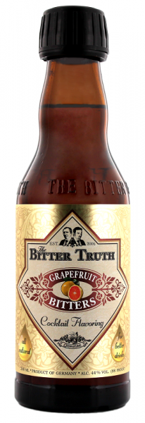 The Bitter Truth Grapefruit 0,2 Liter 44%