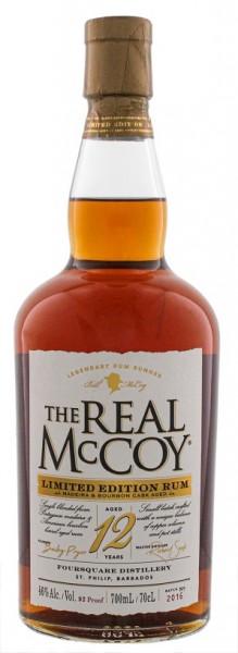 The Real McCoy 12YO Madaira & Bourbon Casked Rum (2016) 0,7 Liter 46%