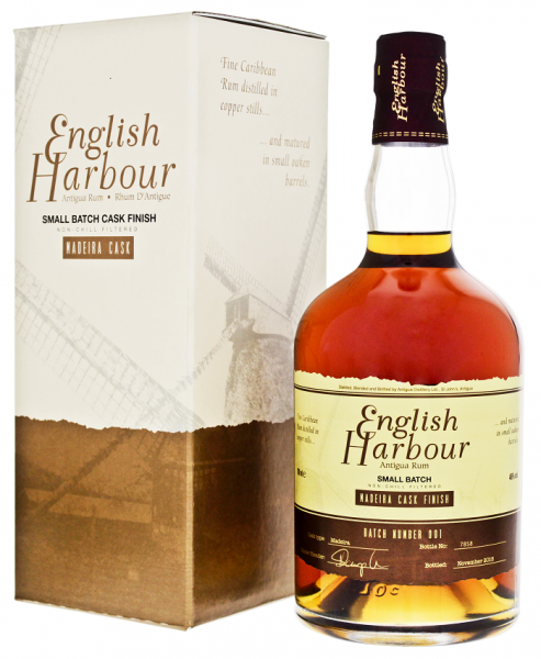 English Harbour Madeira Cask Finish Rum 0,7 Liter 46%