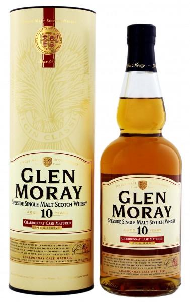 Glen Moray 10YO Chardonnay Cask 0,7L