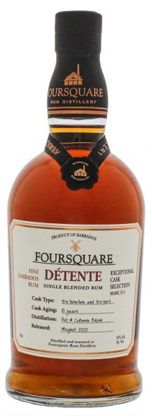 Foursquare Detente MARK XIV Rum 0,7 Liter 51%