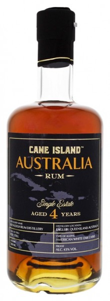 Cane Island Australia 4YO Single Estate Rum 0,7 Liter 43%