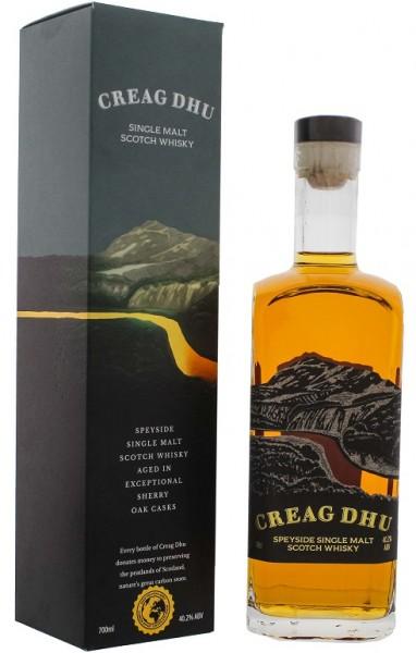 Creag Dhu Speyside Single Malt Whisky 0,7 Liter 40,2%