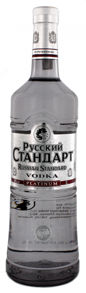 Russian Standart Vodka Platinum 1 Liter 40%