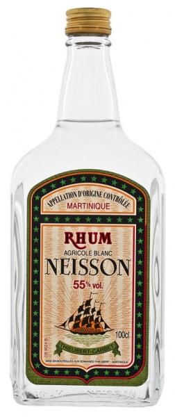 Neisson Blanc Agricole Rum 1 Liter 55%