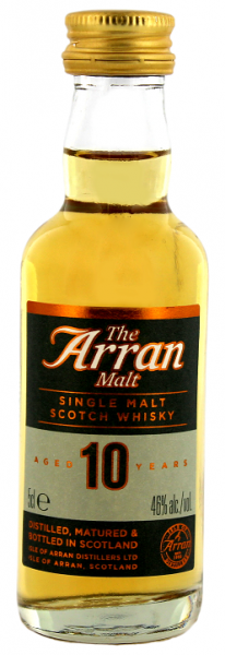 Arran 10YO Single Malt Scotch Whisky 0,05 Liter 46%