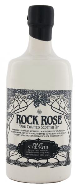 Rock Rose Navy Strength Gin 0,7 Liter