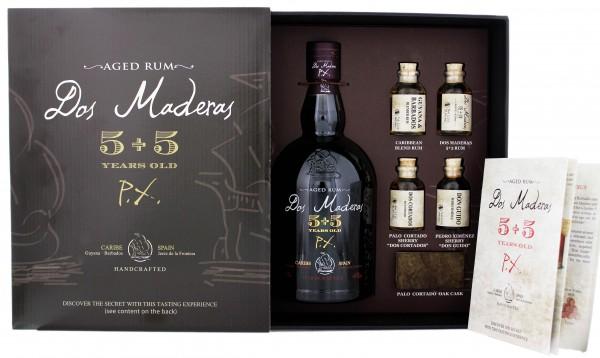 Dos Maderas PX 5 YO + 5 YO Tasting Set (0,7 Liter + 4 x 2,2cl)