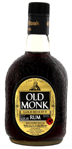 Old Monk 12YO 0,7 Liter