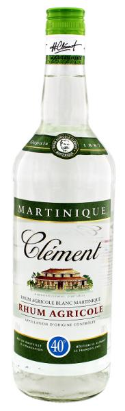 Clément Agricole Blanc Rum 1 Liter