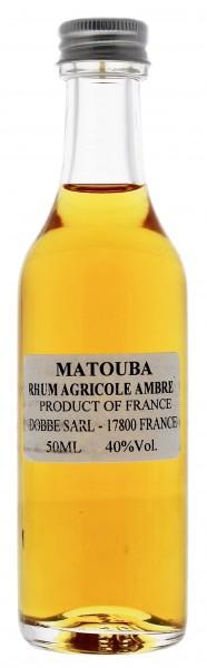 Matouba Gold Rum 0,05 Liter 40%