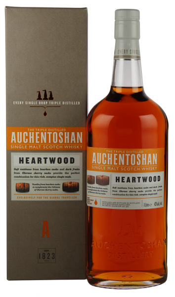 Auchentoshan Heartwood Single Malt Whisy 1 Liter 43%