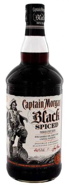Captain Morgan Black Spiced 1 Liter