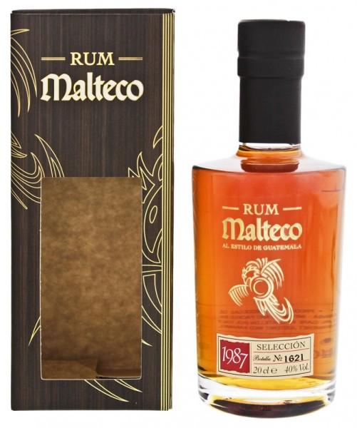 Malteco Selección 1987 0,2 Liter 40%