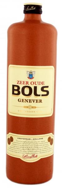 Bols Zeer oude Genever (Steinflasche) 1 Liter 35%