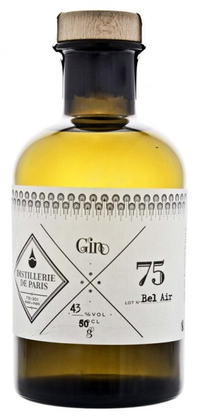 Distillerie de Paris Bel Air Gin 0,5 Liter 43%