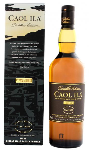Caol Ila Distillers Edition 2001 0,7 Liter 43%