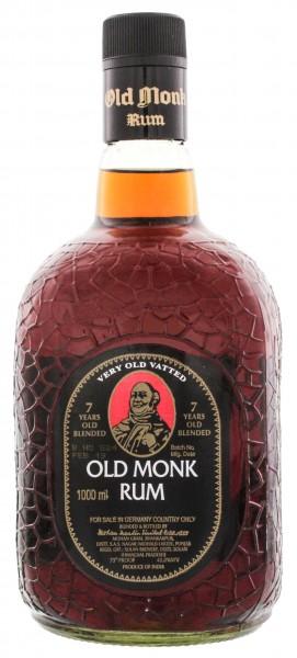 Old Monk 7YO Rum 1 Liter 42,8%