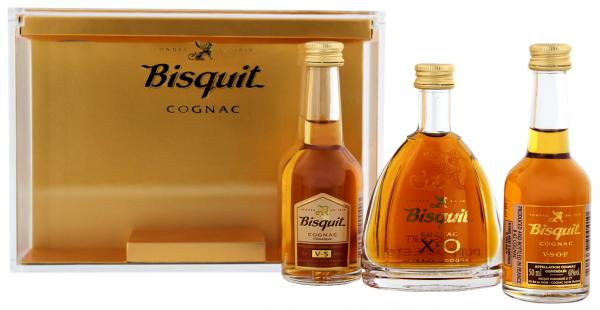 Bisquit Coffret Cognac 0,15 Liter