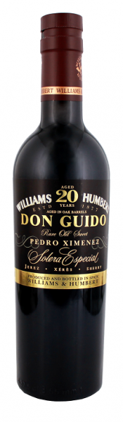 Don Guido 20YO Solera Especial Pedro Ximenez 0,375 Liter