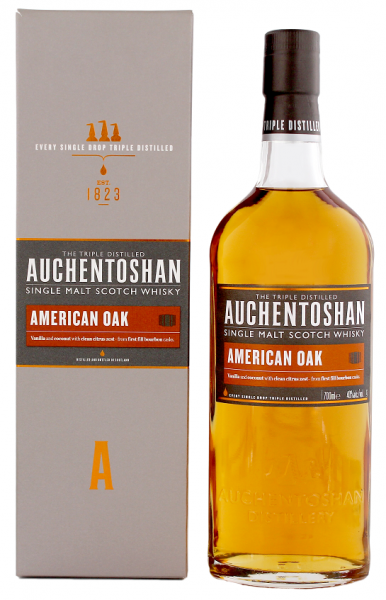 Auchentoshan American Oak Single Malt Whisky 0,7 Liter 40%