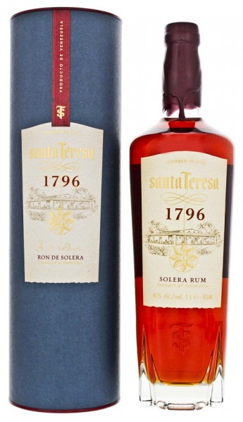 Santa Teresa 1796 Solera Rum 1 Liter 40%