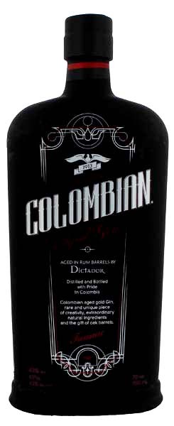 Colombian Aged Gin Black 0,7 Liter
