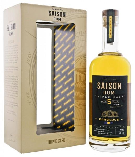 Saison Barbados 5YO Triple Cask Rum 0,7 Liter 46%