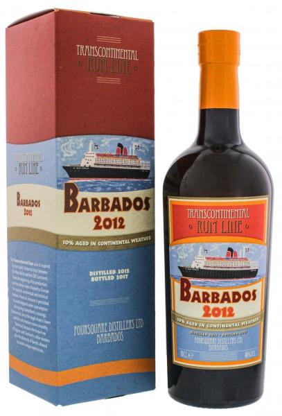 Transcontinental Rum Line Barbados 2012/2017 0,7 Liter 46%