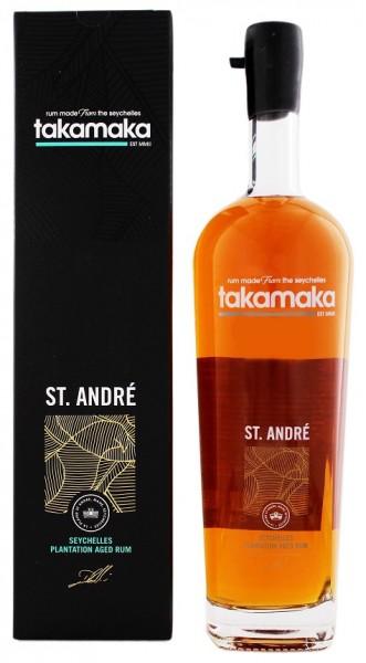Takamaka 8YO St. André Rum 1 Liter 40%