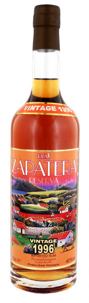 Zapatera 1996 Single Barrel Rum 0,7 Liter 40%