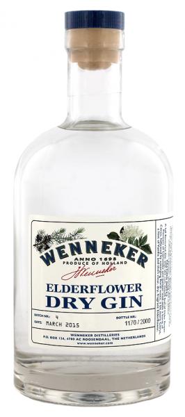 Wenneker Elderflower Dry Gin 0,7 Liter 40%