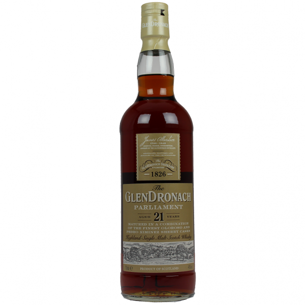 Glendronach Single Malt Parliament 21YO 0,7 Liter 48%