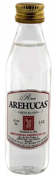 Arehucas Carta Blanca Rum 0,05 Liter 37,5%