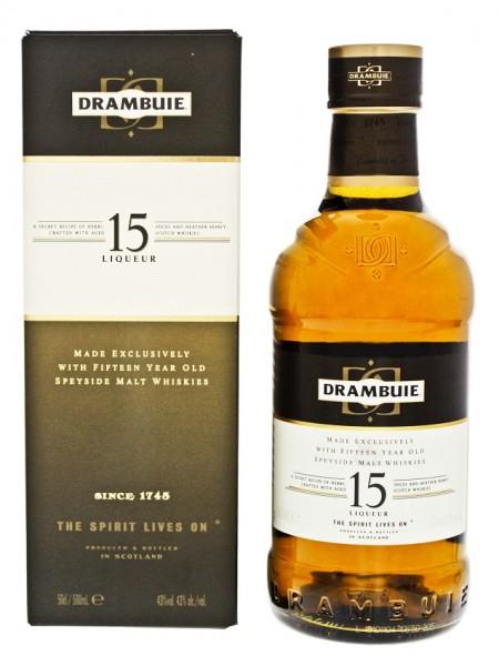 Drambuie 15YO Whiskylikör 0,5 Liter 43%