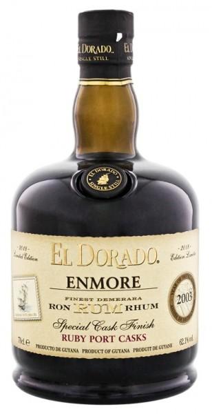 El Dorado Enmore 2003/2018 Ruby Port Special Cask Finish Rum 0,7 Liter 62,1%