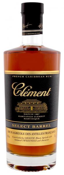 Clément Vieux Select Barrel 0,7 Liter 40%