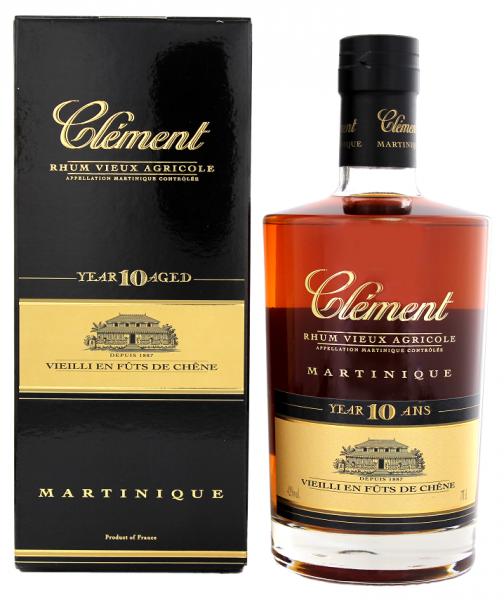 Clément Vieux 10YO 0,7 Liter 42%