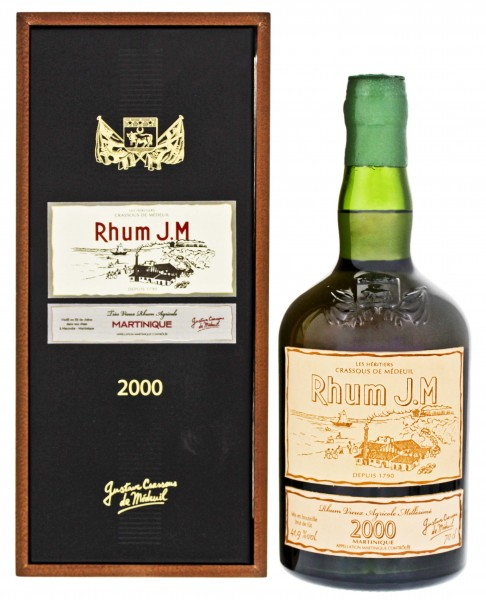 JM Rhum 2000/2016 Vieux Agricole 0,7 L