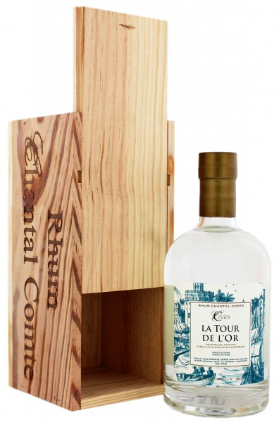 Chantal Comte La Tour de l'Or Blanc Rhum 0,7 Liter 46,04%