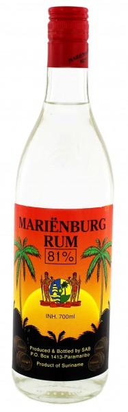 Marienburg Overproof Rum 0,7 Liter
