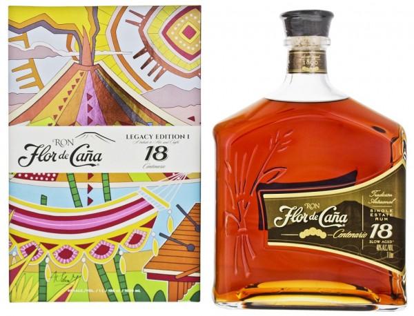 Flor de Cana 18YO Rum - Legacy Edition - 1 Liter 40%