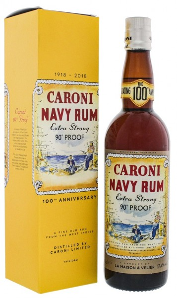 Caroni Extra Strong 100th Anniversary Navy Rum 0,7 Liter 51,4%